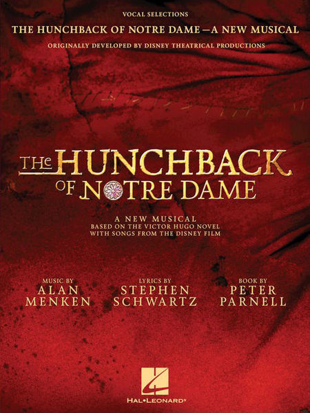 The Hunchback Of Notre Dame Hal Leonard