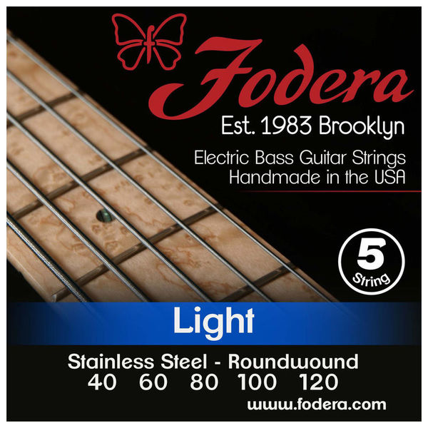 5-String Set light SS XL Fodera