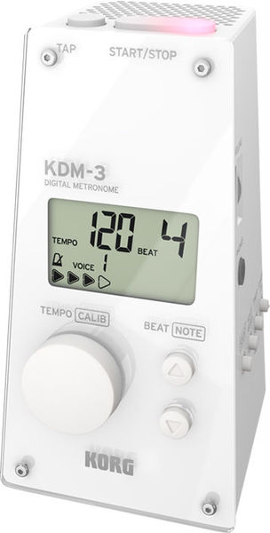 KDM-3 Digital Metronome White Korg