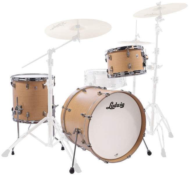 "Ludwig NeuSonic 3pc 22"" Sugar Maple"