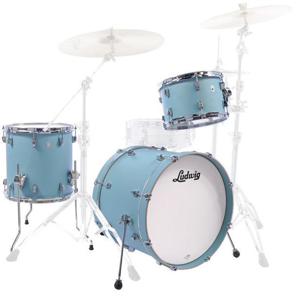 "Ludwig NeuSonic 3pc 22"" Skyline Blue"
