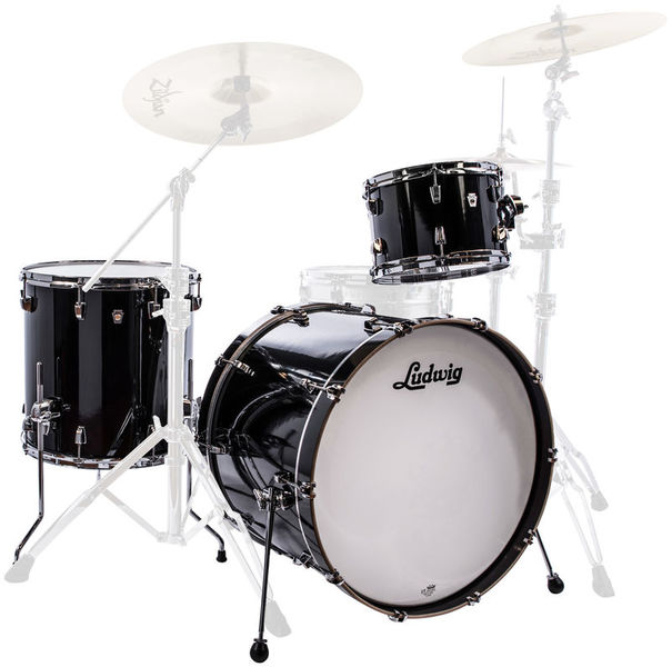 "Ludwig NeuSonic 3pc 20"" Black Cortex"