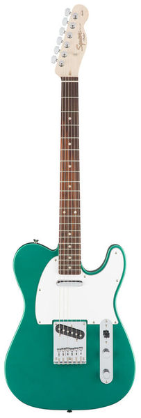 Squier Affinity Tele Green IL Fender