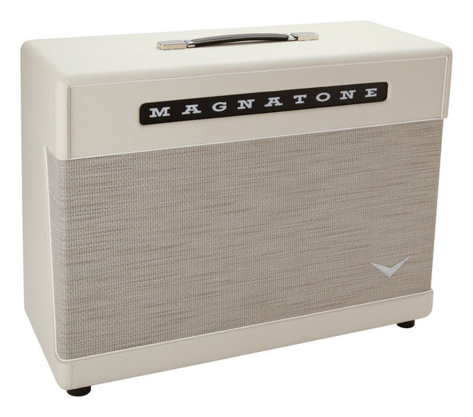 """Magnatone Master 2x12"""" Ext Cab WH"""
