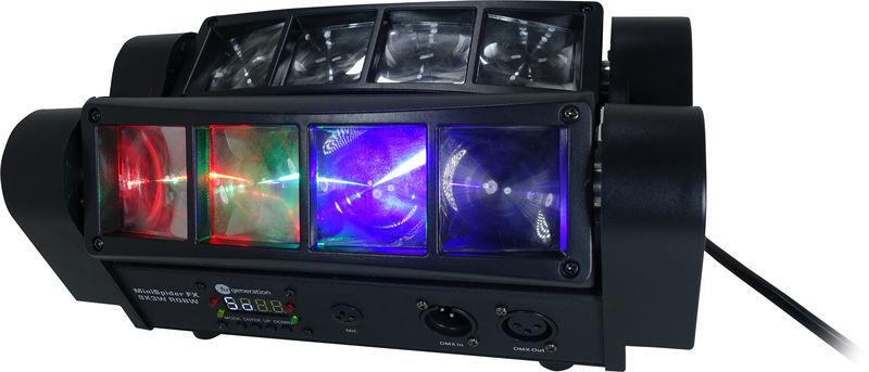 MiniSpider FX 8x3W RGBW Fun Generation