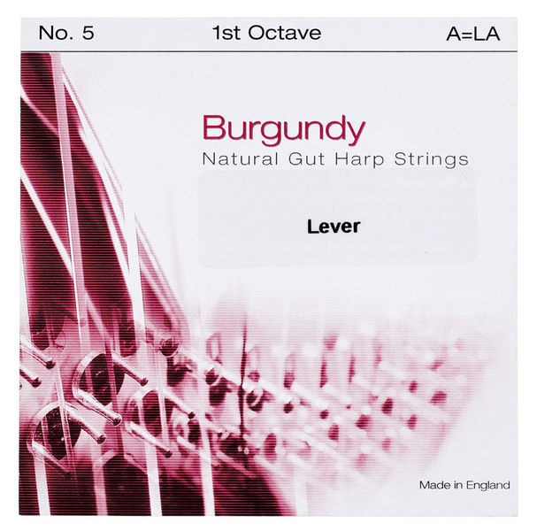 Bow Brand Burgundy 1st B Gut String No.4