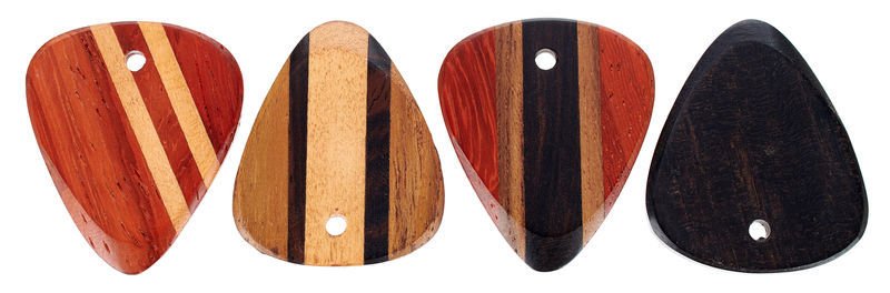 Rockys Wood Plectrum Set