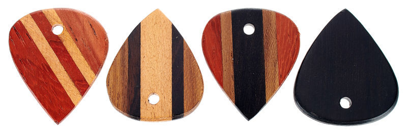Rockys Wood Plectrum Set Jazz