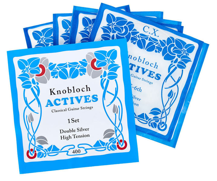 Knobloch Strings Double Silver Special Nylon400