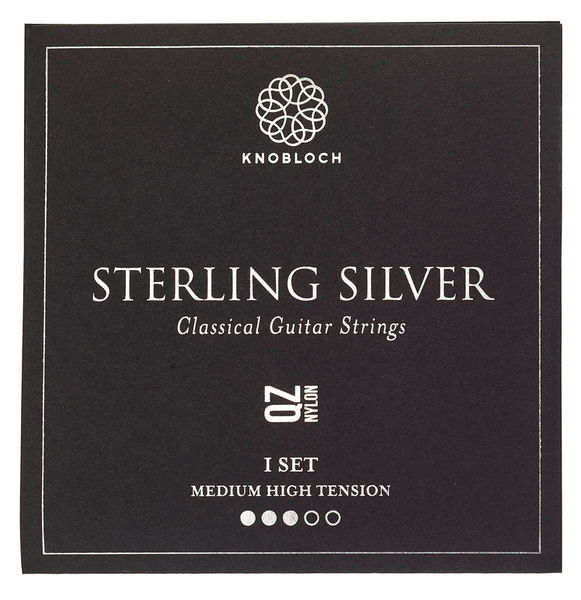 Knobloch Strings Pure Sterling Silver Nylon 400