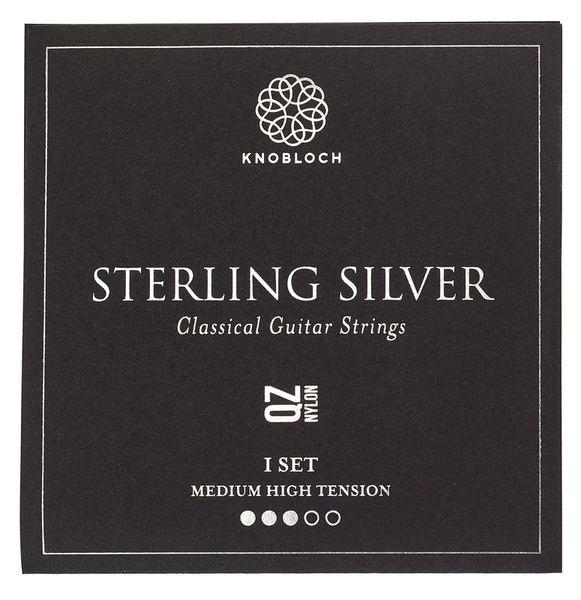 Knobloch Strings Pure Sterling Silver Nylon 400
