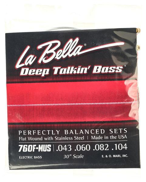 La Bella 760F-MUS Deep Talkin Bass