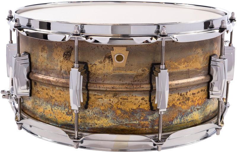"Ludwig 14""x6,5"" Raw Brass Phonic"