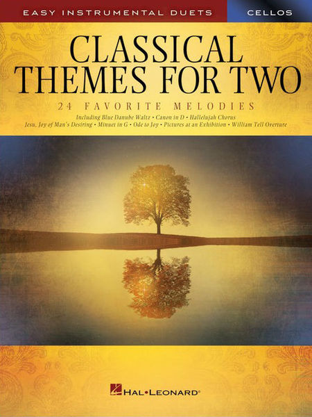 Hal Leonard Classical Themes Two Cellos