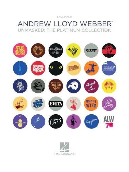 A. L. Webber: Unmasked Easy Hal Leonard