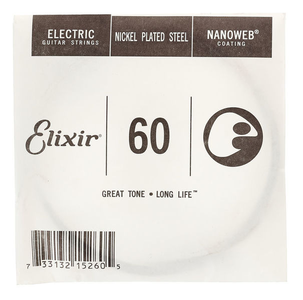 Elixir .060 Nanoweb Electric Guitar