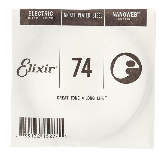 Elixir .074 Electric Guitar