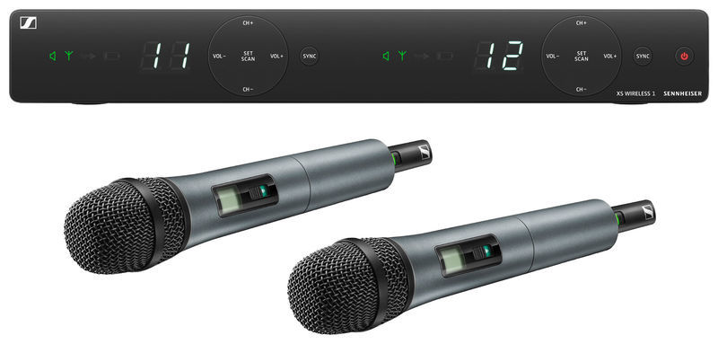 Sennheiser XSW 1-835 Dual B-Band Vocal