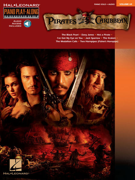 Hal Leonard Pirates Caribbean Piano Along