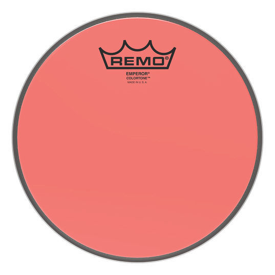 "Remo 08"" Emperor Colortone Red"