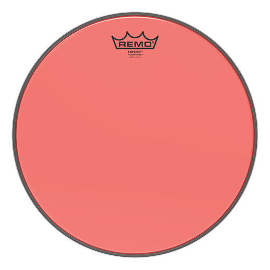 "Remo 13"" Emperor Colortone Red"