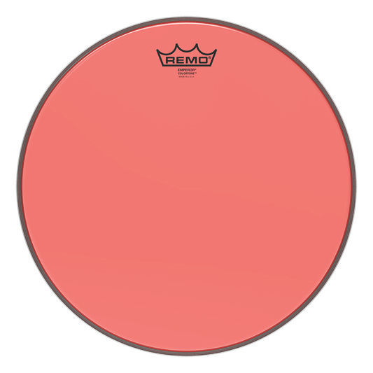 "Remo 14"" Emperor Colortone Red"