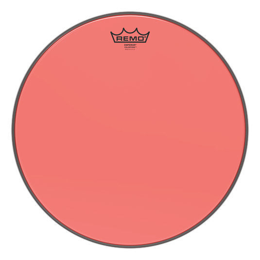 "Remo 15"" Emperor Colortone Red"