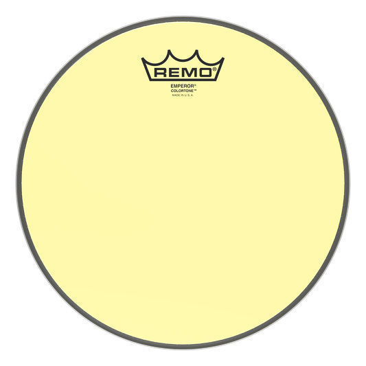 "Remo 10"" Emperor Colortone Yellow"