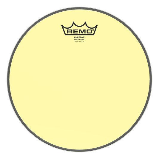 """Remo 10"""" Emperor Colortone Yellow"""