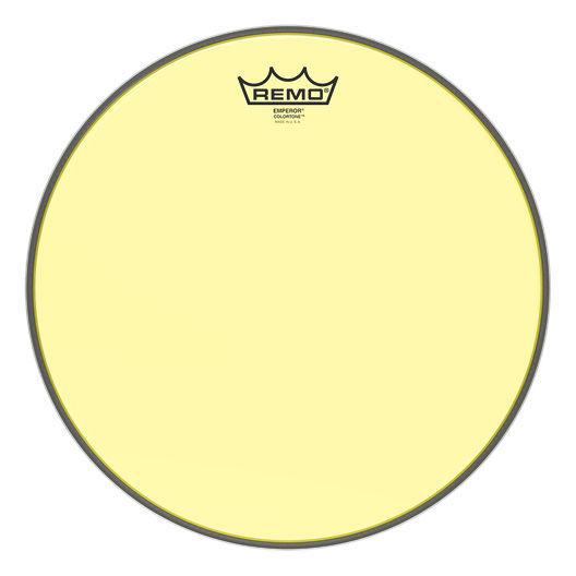 """Remo 13"""" Emperor Colortone Yellow"""