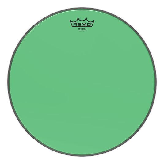 """Remo 15"""" Emperor Colortone Green"""