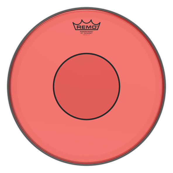 "Remo 14"" Power. 77 Colortone Red"