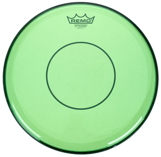 "14"" Power. 77 Colortone Green Remo"