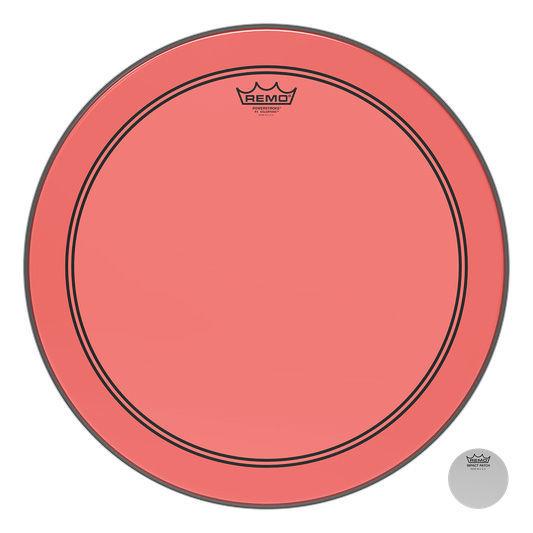 """Remo 18"""" P3 Colortone Batter Red"""