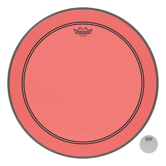 """Remo 24"""" P3 Colortone Batter Red"""