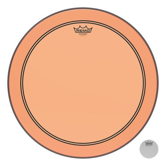 """Remo 18"""" P3 Colortone Batter Orange"""
