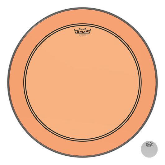 """Remo 22"""" P3 Colortone Batter Orange"""