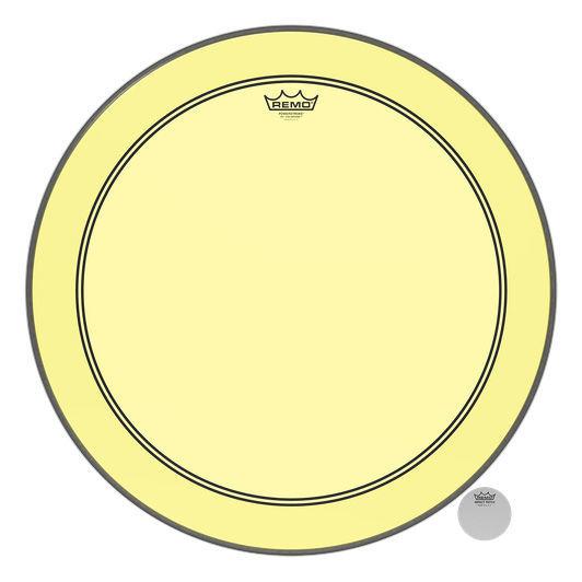 """Remo 26"""" P3 Colortone Batter Yellow"""