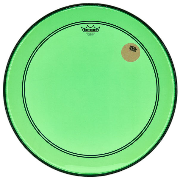 "Remo 22"" P3 Colortone Batter Green"