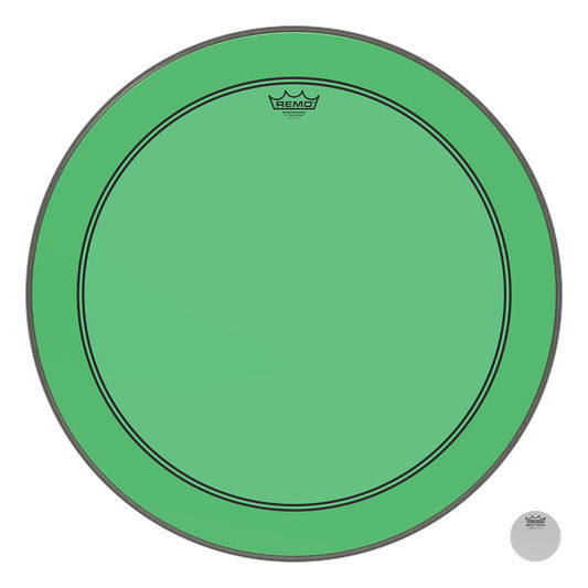 "Remo 26"" P3 Colortone Batter Green"