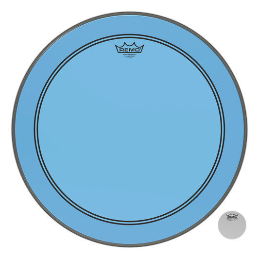"Remo 20"" P3 Colortone Batter Blue"