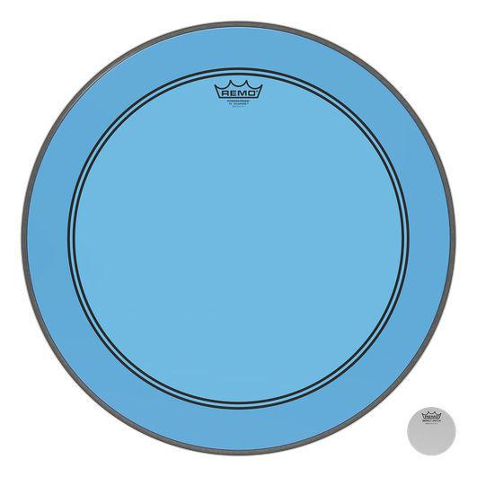 """Remo 22"""" P3 Colortone Batter Blue"""