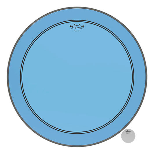"Remo 24"" P3 Colortone Batter Blue"