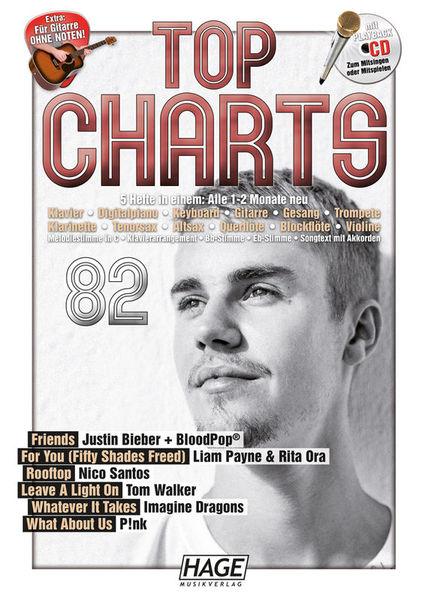 Top Charts 82 Hage Musikverlag