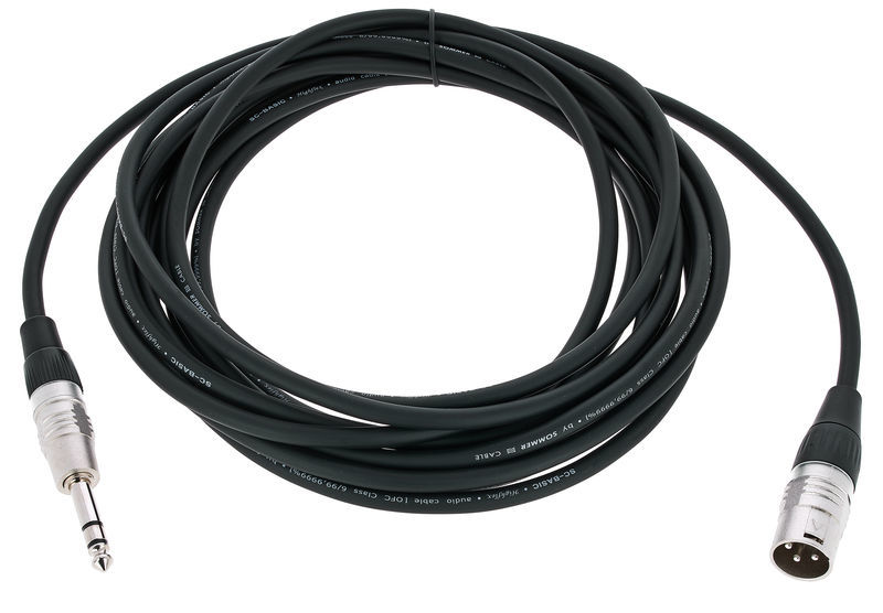 Sommer Cable Basic+ HBP-XM6S 6,0m