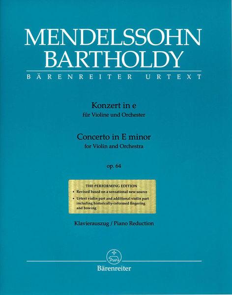 Mendelssohn Concerto op.64 Bärenreiter