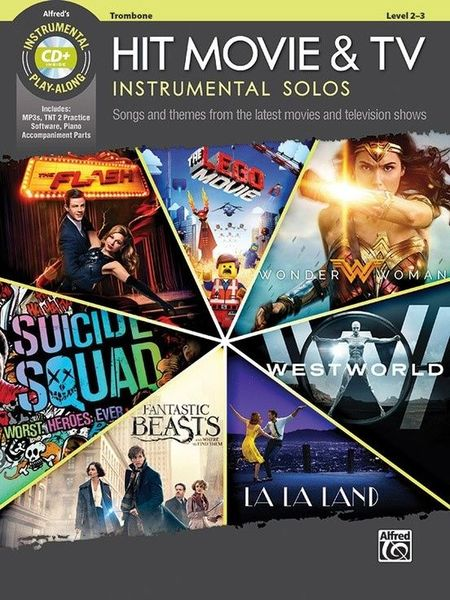 Alfred Music Publishing Hit Movie & TV Solos Trombone