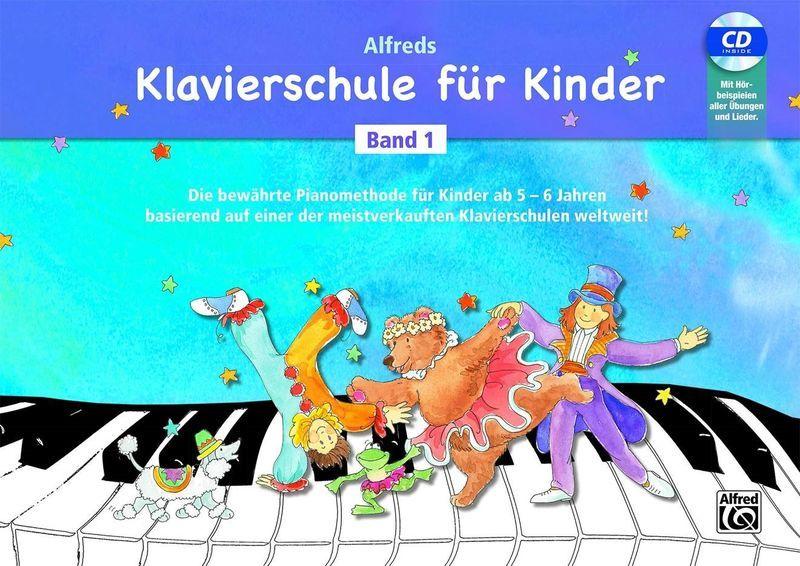 Alfred Music Publishing Klavierschule for Kinder 1