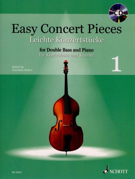 Schott Easy Concert Double Bass Vol.1