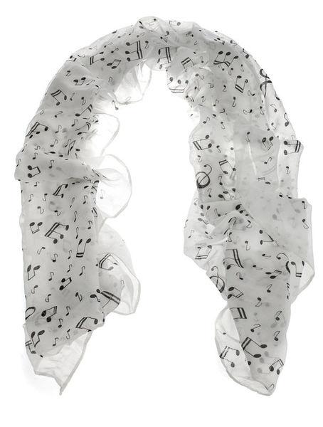 Musikboutique Hahn Scarf Sheet Music White